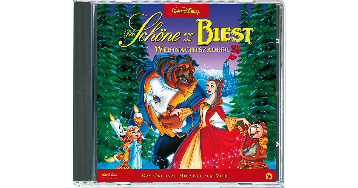 CD Walt Disney Die Schöne und das Biest - Weihnachtzauber Hörbuch