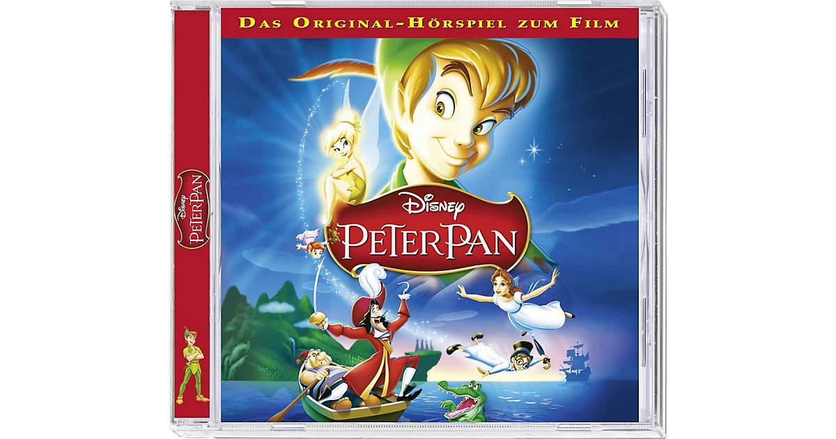 CD Walt Disney Peter Pan Hörbuch