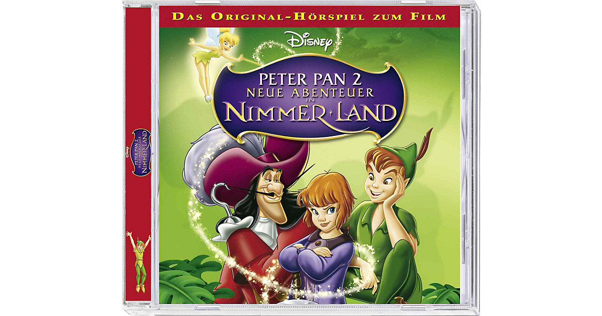 CD Walt Disney Peter Pan 2 Hörbuch
