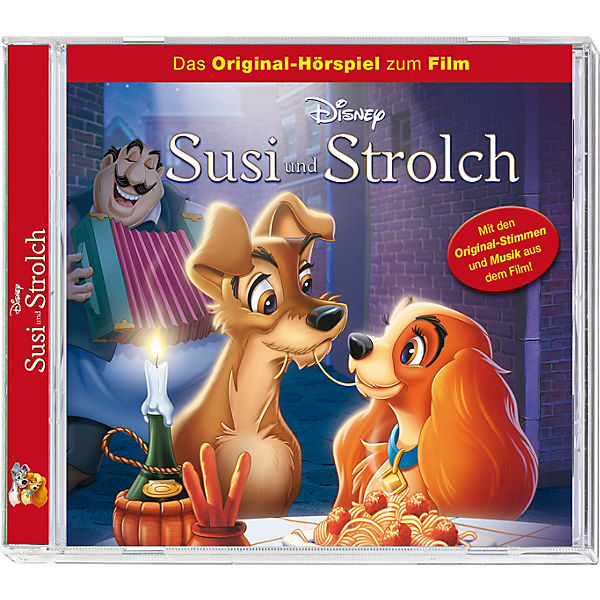 CD Walt Disney Susi & Strolch