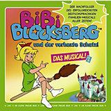 CD Kindermusik Bibi Blocksberg - und der verhexte Schatz - Das Musical 2