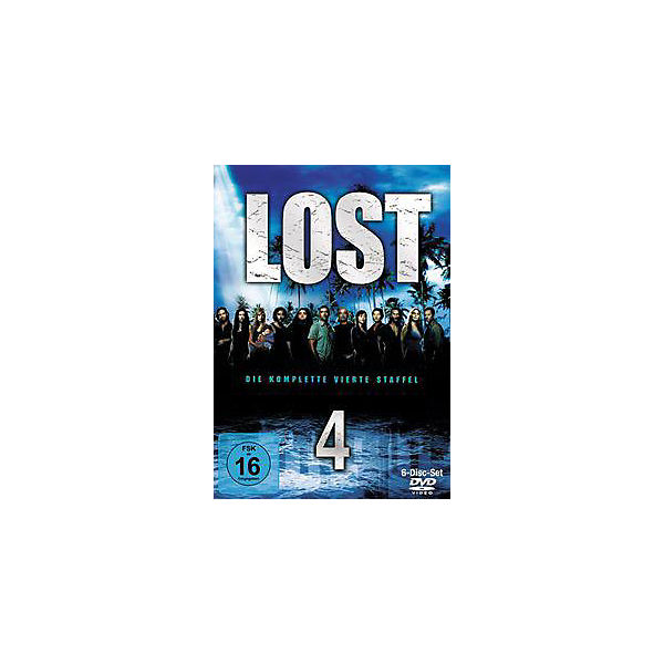 DVD Lost - Season 4