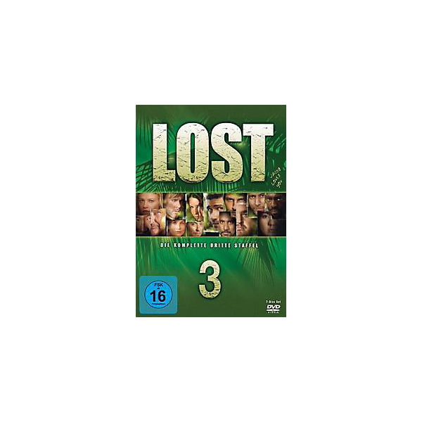 DVD Lost - Season 3 komplett