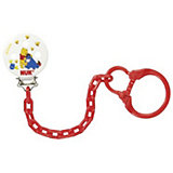 Soother Chain with Clip, Winnie the Pooh