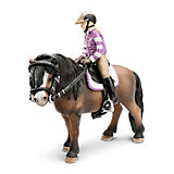 Schleich Horse World: Pony Riding Set, 4-pce. Set