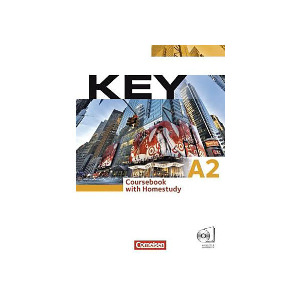 Key: Kursbuch und Wordbook, m. Audio-CDs