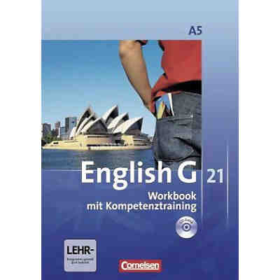 English G 21, Ausgabe A: 9. Schuljahr, Workbook m. Audio-CD