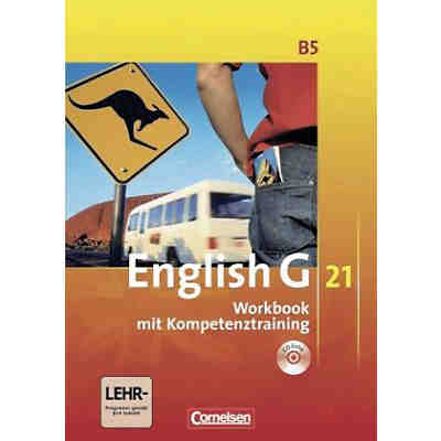 English G 21, Ausgabe B: 9. Schuljahr, Workbook m. Audio-CD