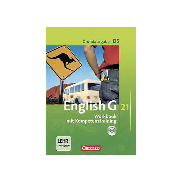 English G 21, Ausgabe D: 9. Schuljahr, Workbook m. Audio-CD, Grundausgabe