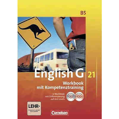 English G 21, Ausgabe B: 9. Schuljahr, Workbook m. CD-ROM (e-Workbook) u. Audio-CD
