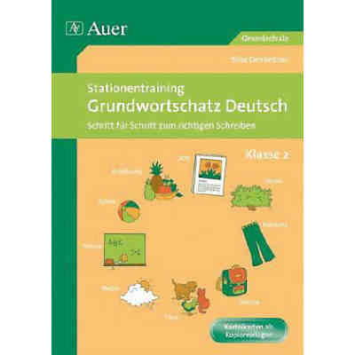 Stationentraining Grundwortschatz Deutsch, Klasse 2
