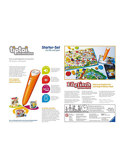 tiptoi: Starter-Set mit Stift und Spiel - Die Englisch-Detektive