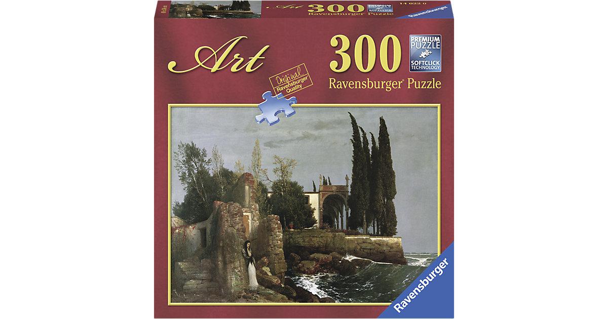 Puzzle 300 Teile Böcklin: Villa am Meer