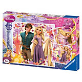 Puzzle Set 3 x 49 Pieces Disney Rapunzel