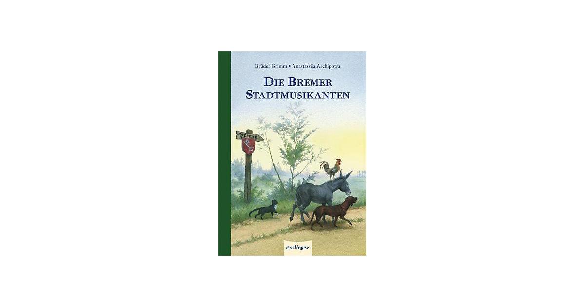 Buch - Die Bremer Stadtmusikanten, Mini-Ausgabe