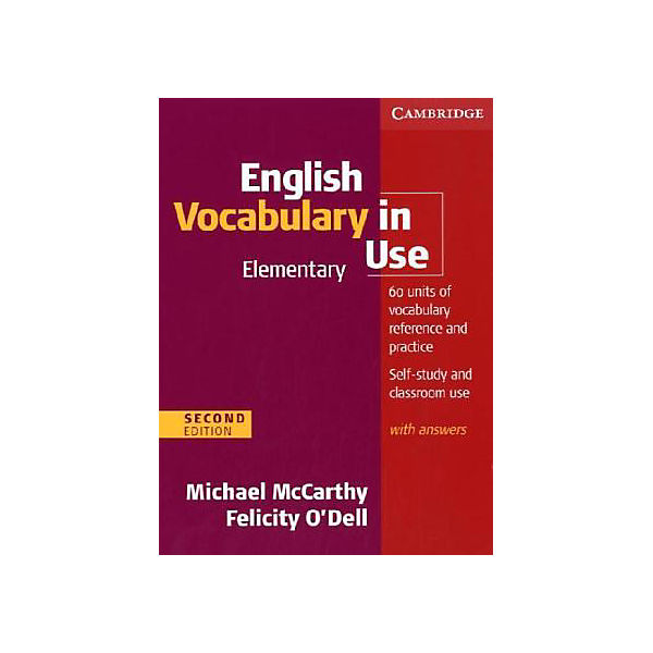 English Vocabulary in Use, with answers (Second edition)