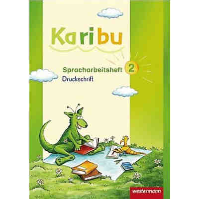 Karibu: Spracharbeitsheft DS, 2. Klasse