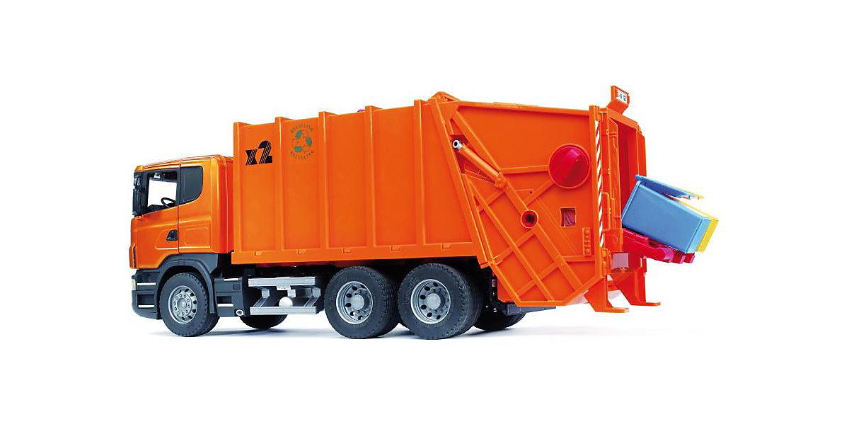 03560 Scania Müll-LKW orange