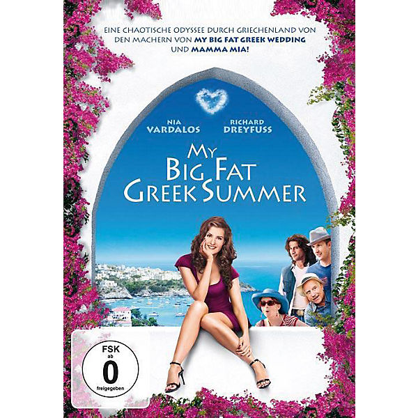 DVD My Big Fat Greek Summer