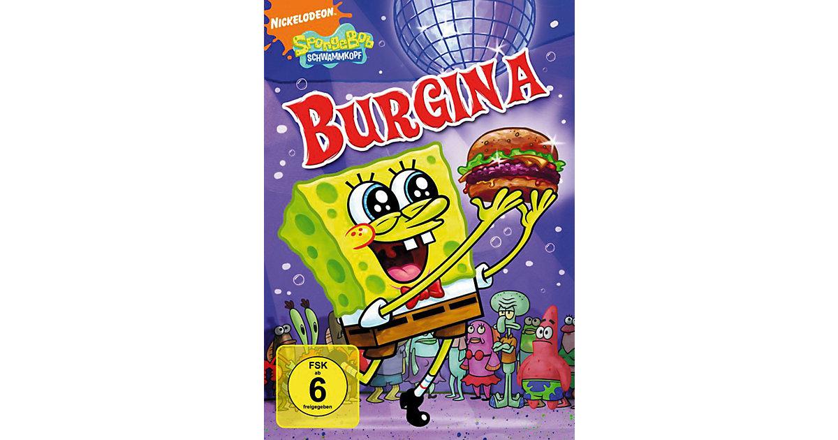 DVD Spongebob Schwammkopf - Burgina