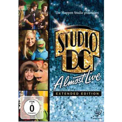 DVD Muppets Studio Disney Channel Almost Live