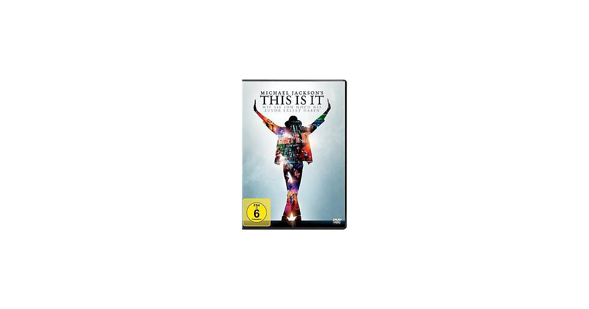 DVD Michael Jackson`s This is it