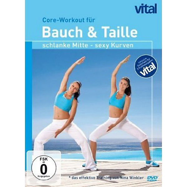 DVD Vital-Core-Workout für Bauch & Taille