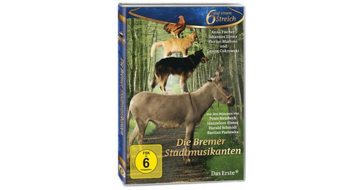 DVD Bremer Stadtmusikanten - Sechs auf einen StreichII