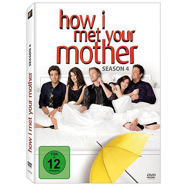 DVD How I met your Mother - Season 4