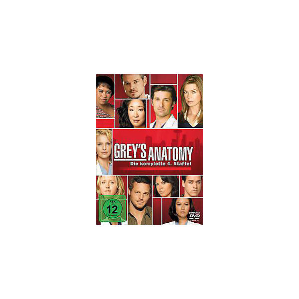 DVD Grey´s Anatomy - Season 4