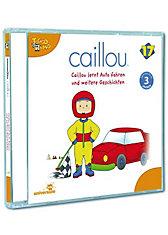 CD Caillou 17 - lernt Auto fahren und weitere Geschichten