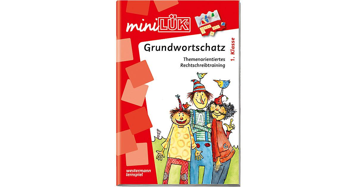 Buch - mini LÜK: Grundwortschatz 1. Klasse, Übungsheft