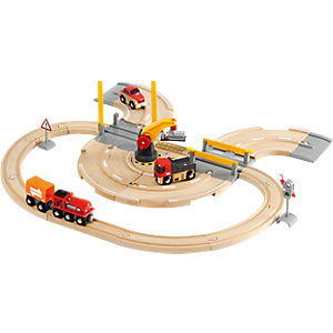 BRIO 33208 Road And Rail Crane Set
