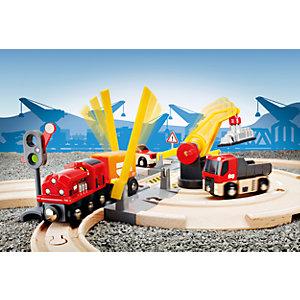 BRIO 33208 Road And Rail Crane Set