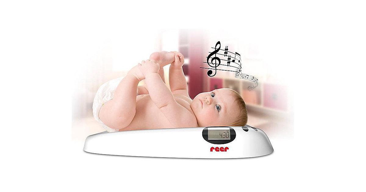 Babywaage mit Musik weiß