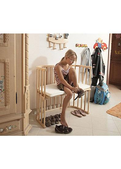 Beistellbett babybay original, weiß lackiert