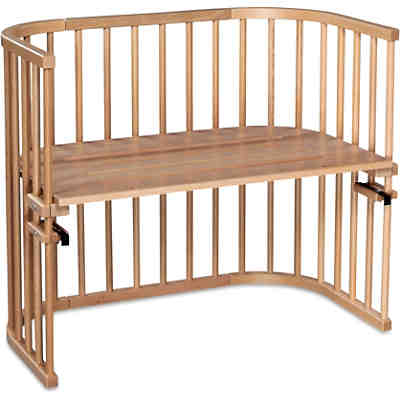 beistellbett babybay maxi wei lackiert extra bel ftet babybay mytoys. Black Bedroom Furniture Sets. Home Design Ideas