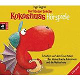 Der kleine Drache Kokosnuss Hörspiele, 2 Audio-CDs