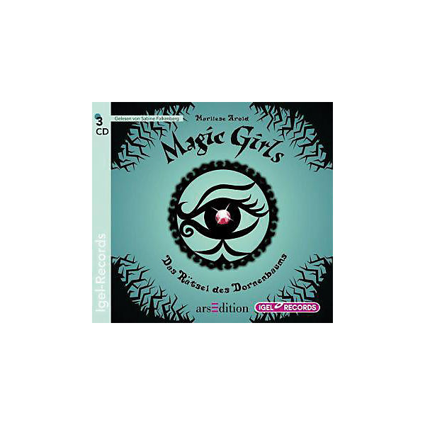 Magic Girls: Das Rätsel des Dornenbaums, 3 Audio-CDs