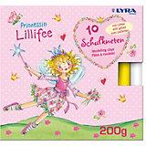 Glitzer-Knete Prinzessin Lillifee, 10 Farben