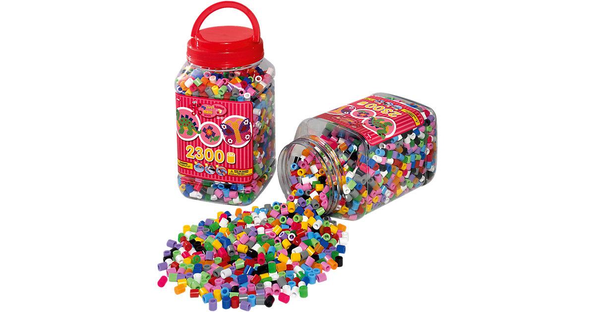 HAMA 8586 Dose rot mit 2.300 maxi-Perlen
