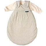 Schlafsack Baby Mäxchen, Jersey, beige gestreift