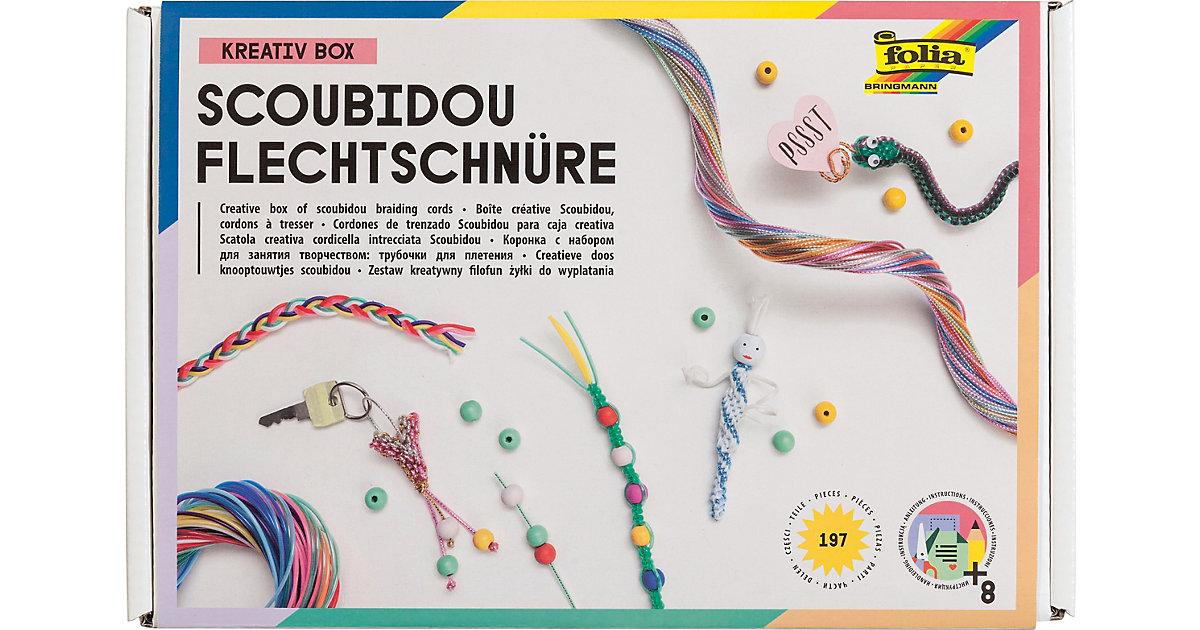 Kreativset Flechtschnüre Scoubidou, über 190 Teile