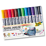Textile Marker, 12 Colours