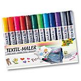 Textilmaler, 12 Farben