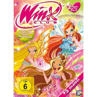 DVD Winx Club 3.Staffel Box 2 (inkl. Teil 3 & 4)