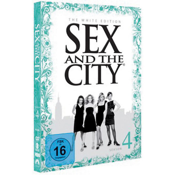 DVD Sex and the City - Season 4 (White Edition)