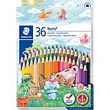 Цвентные карандаши Noris Club, 36 цв.