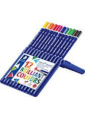 Aquarellfarbstifte ergosoft aquarell, 12 Farben in Aufstellbox