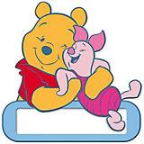 Namensschild für Tür, Winnie the Pooh
